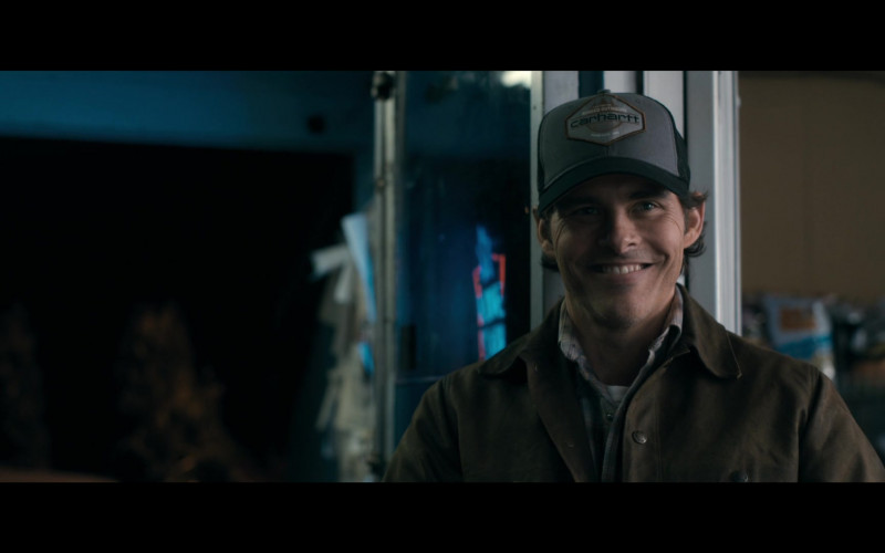 Carhartt Cap of James Marsden as Stu Redman in The Stand S01E01 The End (2020)