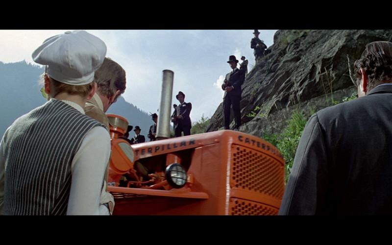 Caterpillar in The Italian Job (1969)