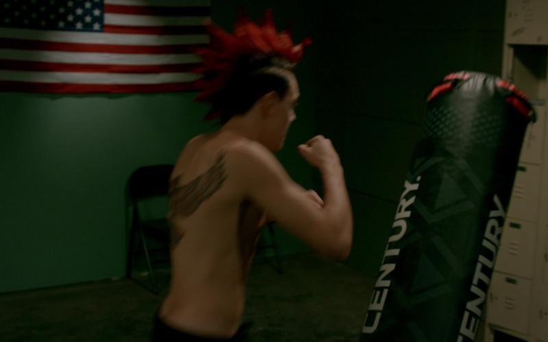 Century Training Bag Used by Jacob Bertrand as Hawk in Cobra Kai S02E05