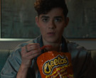 Cheetos Flamin' Hot Cheese Flavored Snacks Enjoyed by Misha ...