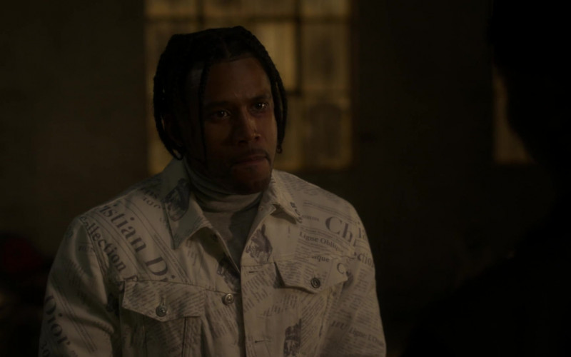 Christian Dior Men's Jacket Outfit in Power Book II Ghost S01E09 (3)