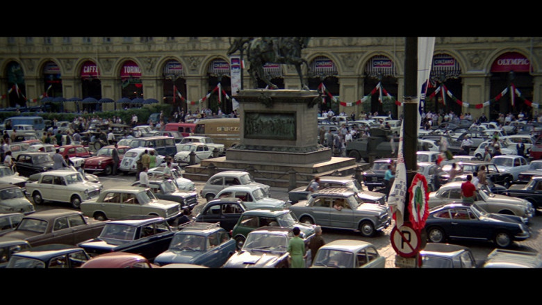 Cinzano Ads in The Italian Job (1969)