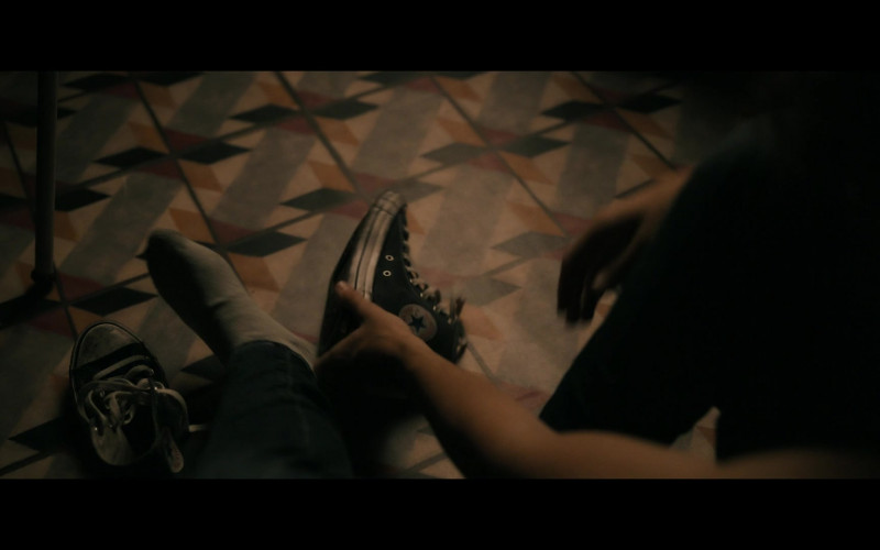 Converse High-Top Shoes of Hunter Doohan as Adam Desiato in Your Honor S01E03 Part Three (2020)