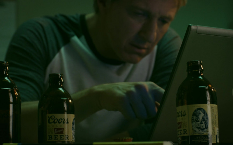 Coors Banquet Beer Drunk by William Zabka as Johnny Lawrence in Cobra Kai S02E03 Fire and Ice