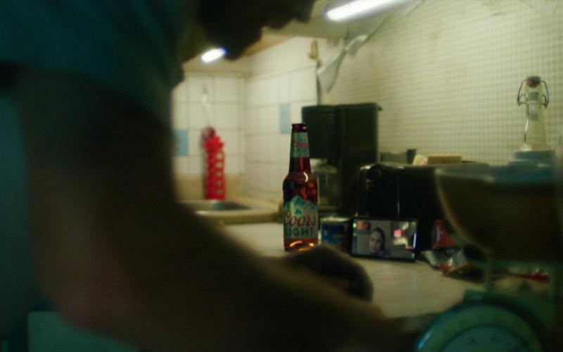 Coors Light Beer of KJ Apa as Nico Price in Songbird (1)