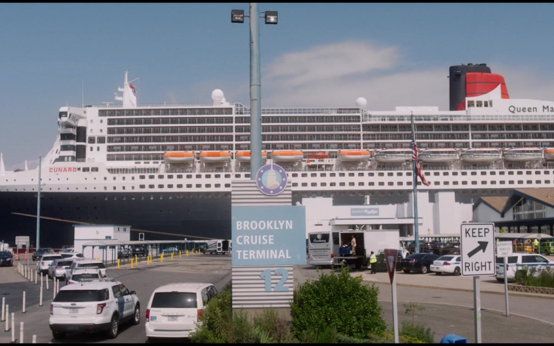 Cunard Queen Mary 2 Luxury Cruise Ship in Let Them All Talk Movie (1)