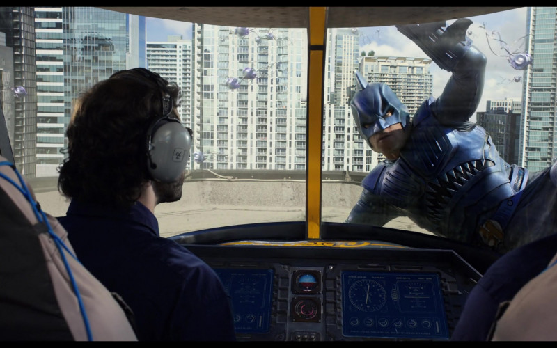 David Clark Aviation Headset in We Can Be Heroes (2020)