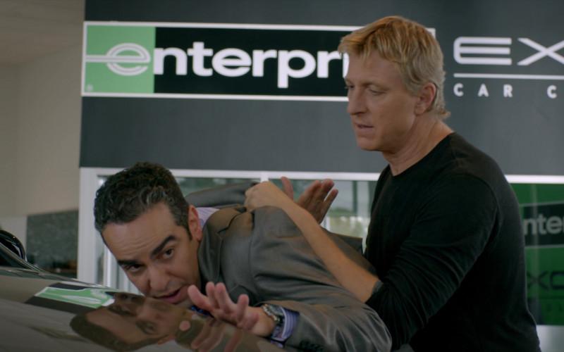 Enterprise Rent-A-Car Exotic Rental Cars in Cobra Kai S02E05 (2)