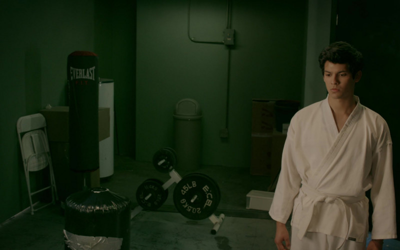 Everlast Punching Bag in Cobra Kai S02E06 Take a Right (2019)