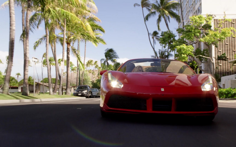 Ferrari 488 Sports Car in Magnum P.I. S03E01 (1)