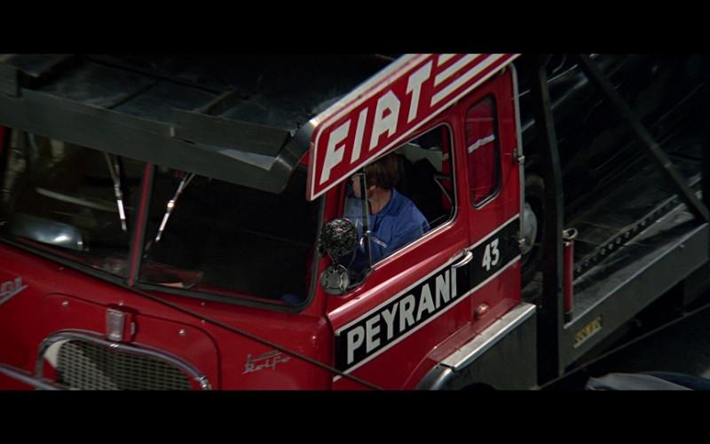 Fiat 643 N Rolfo Trucks (Black & Red) in The Italian Job (1)