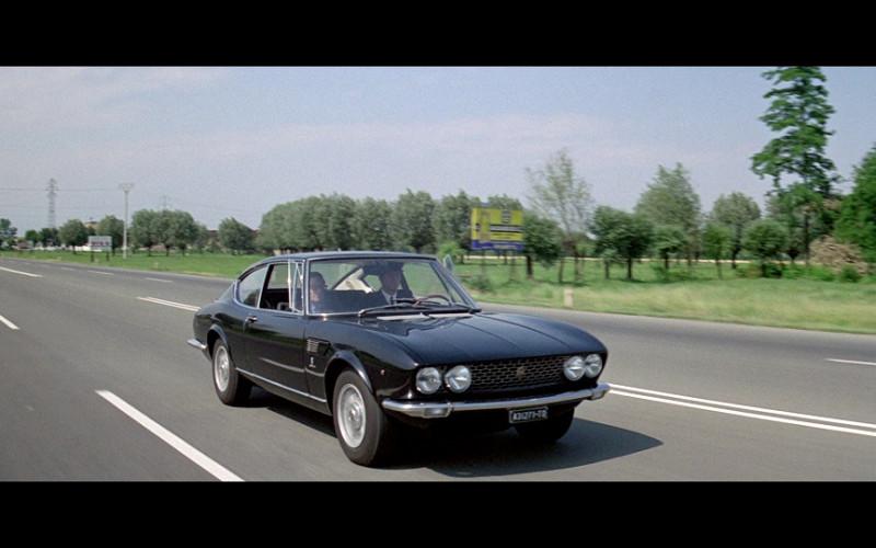 Fiat Dino Coupé 2000 Car in The Italian Job (1969)
