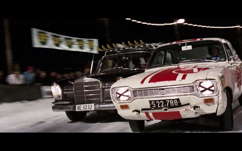 Ford Escort Car in On Her Majesty's Secret Service (1969)