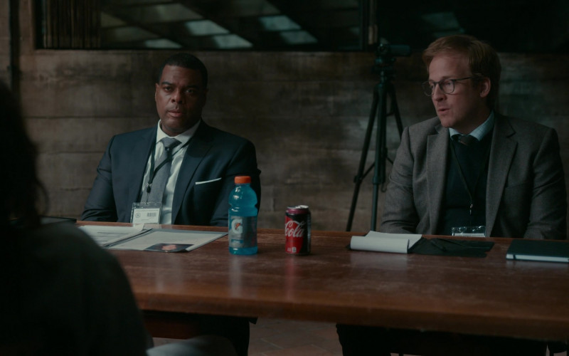 Gatorade and Coca-Cola Drinks in The Wilds S01E01 Day One (2020)
