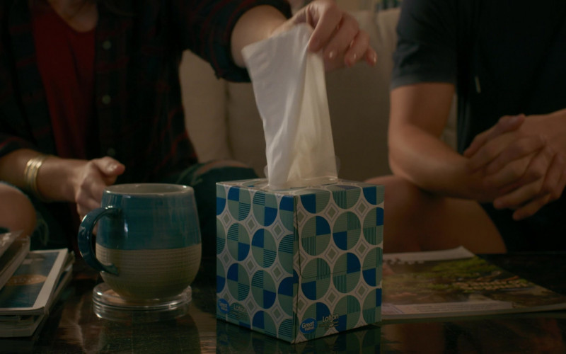 Great Value Lotion Soothing Facial Tissues in Cobra Kai S02E09