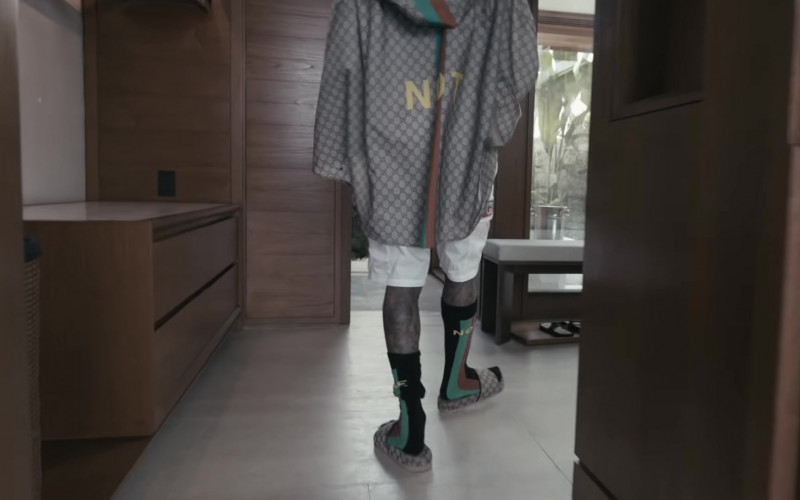 Gucci Outfit of Lil Wayne in Something Different (1)