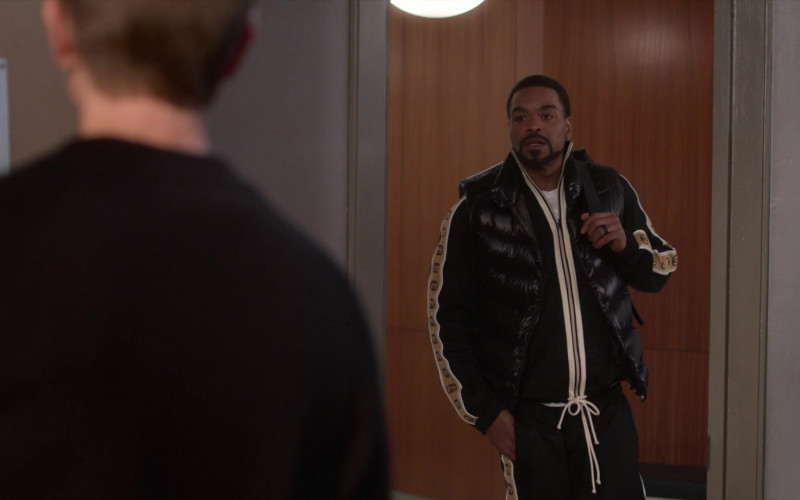 Gucci Tracksuit Outfit of Method Man as Davis Maclean in Power Book II Ghost S01E06