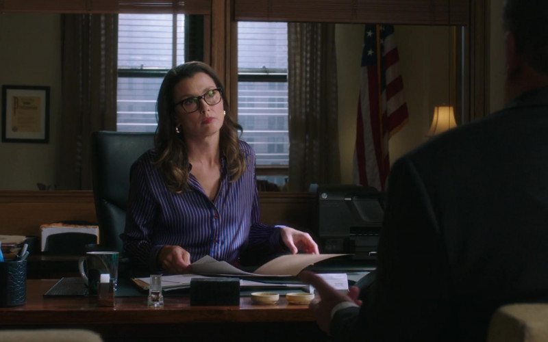 HP All-In-One Printer of Bridget Moynahan as Erin Reagan in Blue Bloods S11E01