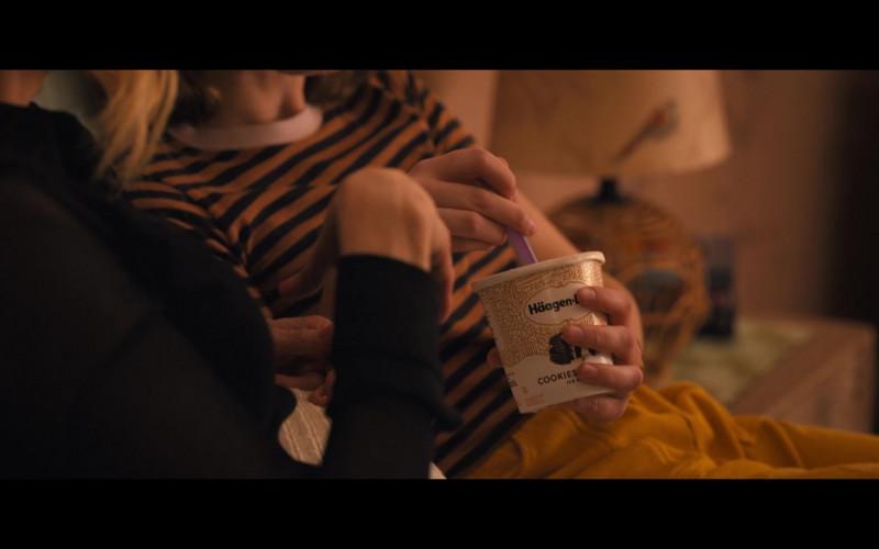 Häagen-Dazs Cookies and Cream Ice Cream Enjoyed by Jo Ellen Pellman as Emma Nolan in The Prom (1)