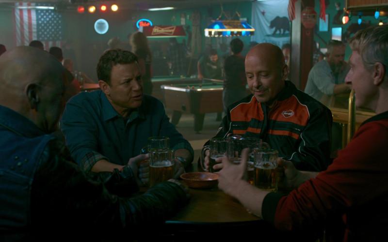Harley-Davidson Jacket of Ron Thomas as Ron Thomas of Bobby in Cobra Kai S02E06 (1)
