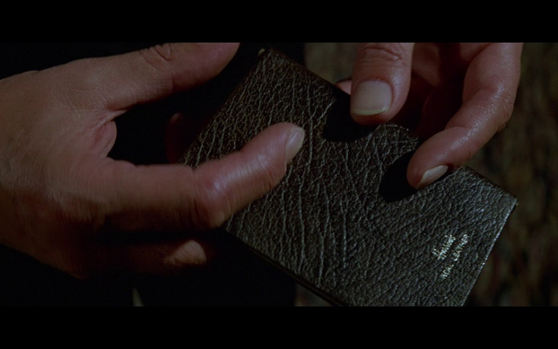 Harrods Leather Notebook in Moonraker (1979)