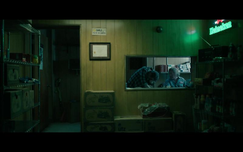 Heineken Beer Sign, Zapp's and UTZ Boxes in Your Honor S01E03 Part Three (2020)