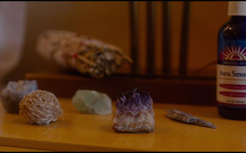 Heritage Store Aura Smudge Juniper Sage Spray of Gemma Chan as Karen in Let Them All Talk (2020)