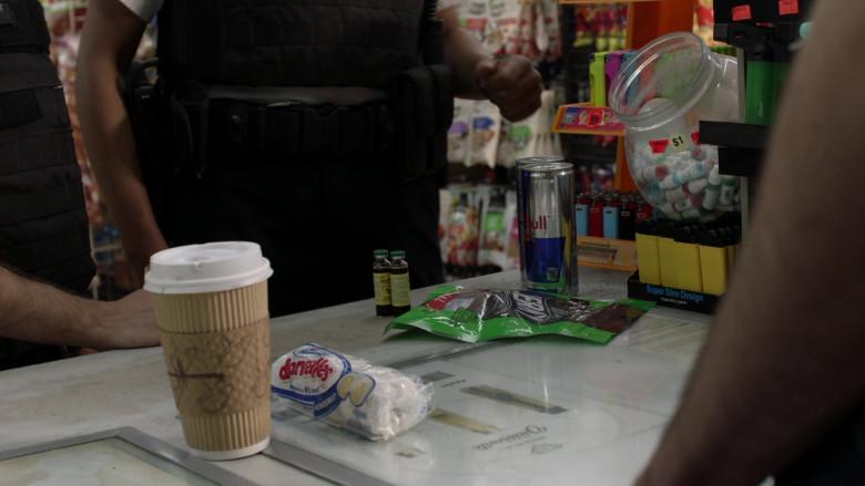 Hostess Donettes Mini Donuts and Red Bull Energy Drink in Shameless S11E03