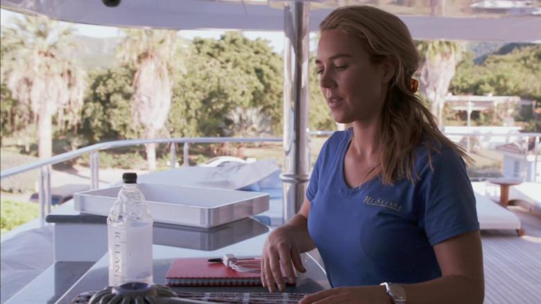Icelandic Glacial Water Bottles in Below Deck S08E07 Runaway Chef (4)