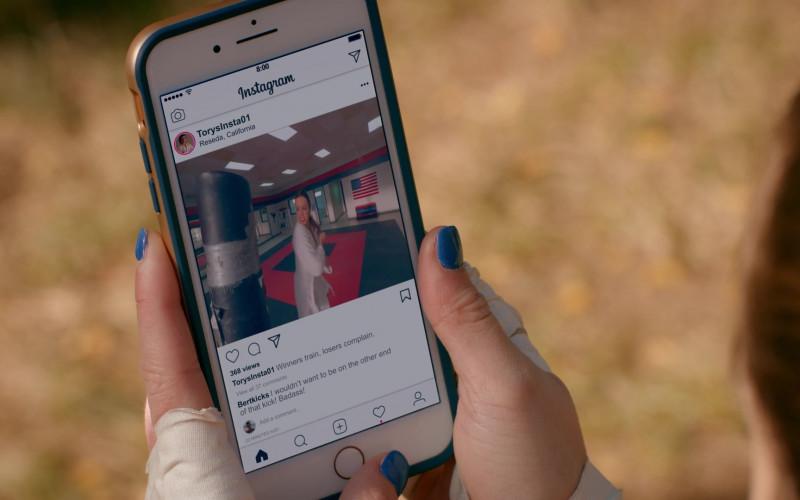 Instagram App in Cobra Kai S02E09 Pulpo (2019)