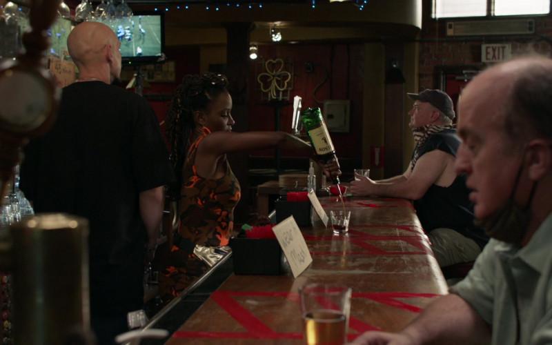 Jameson Irish Whiskey Bottle Held by Shanola Hampton as Veronica 'V' Fisher in Shameless S11E02