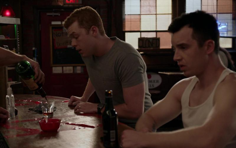 Jameson Irish Whiskey Enjoyed by Cameron Monaghan as Ian Gallagher in Shameless S11E03 Frances Francis Franny Frank (2020)