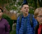 JanSport Backpack of Jacob Bertrand as Hawk in Cobra Kai S01...