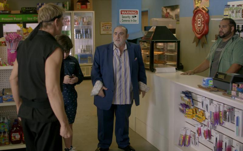 Jim Beam Sign in Cobra Kai S01E05 Counterbalance (2018)