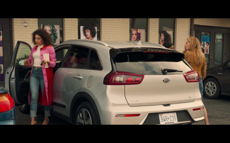 Kia Niro Car of Marielle Scott as Megan Denhoff in All My Life (2020)