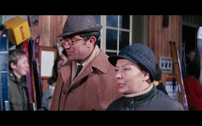 Kodak ad in On Her Majesty's Secret Service (1969)