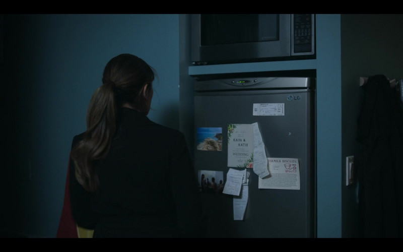LG Refrigerator in The Flight Attendant Episode 5 TV Show