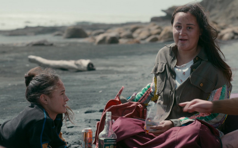 LaCroix Sparkling Water Can of Jenna Clause as Martha Blackburn in The Wilds S01E08 Day Sixteen (1)