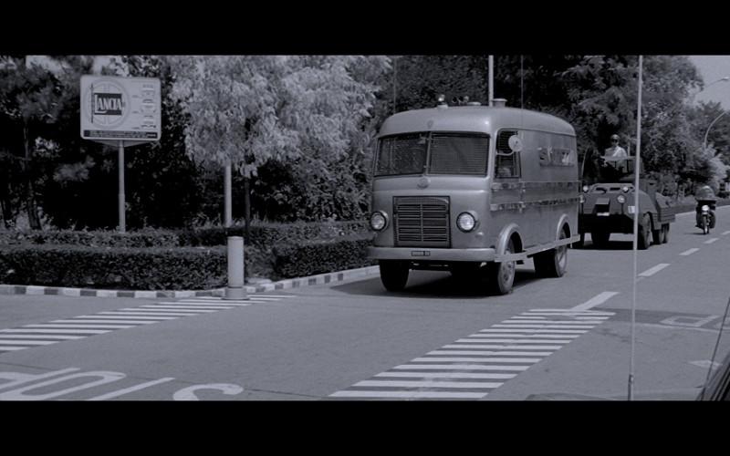 Lancia Sign in The Italian Job (1969)