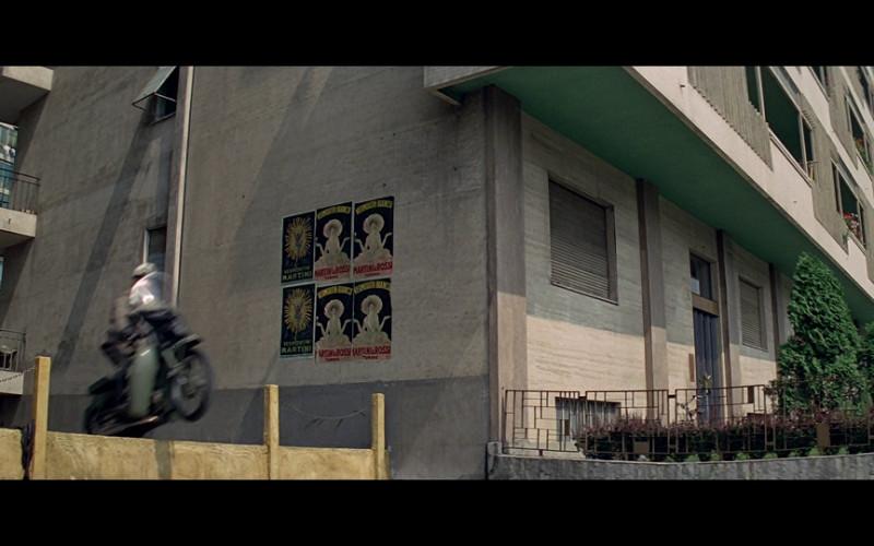 Martini Posters in The Italian Job (1969)