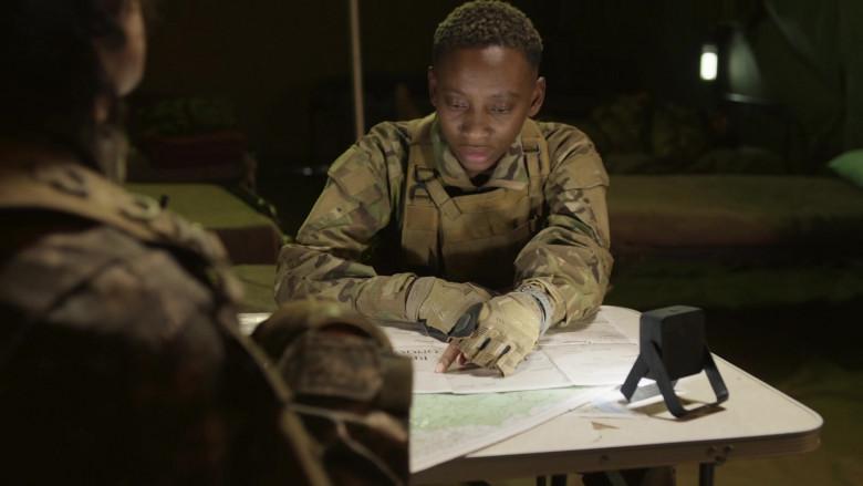 Mechanix M-Pact Gloves of Mandisa Nduna as Kolo in Professionals S01E08 (2)