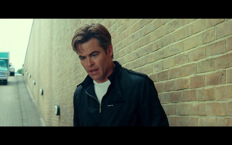 Members Only Jacket of Chris Pine as Steve Trevor in Wonder Woman 1984 (3)