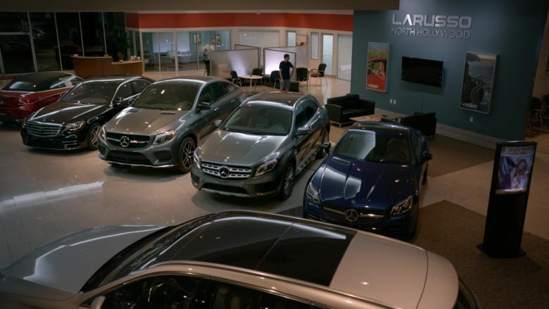Mercedes-Benz Cars in Cobra Kai S02E07