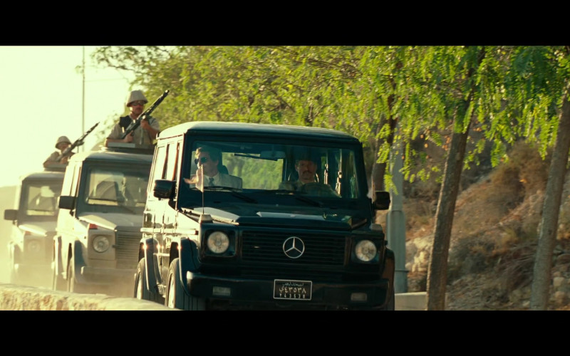Mercedes-Benz G-Class Cars in Wonder Woman 1984 (1)
