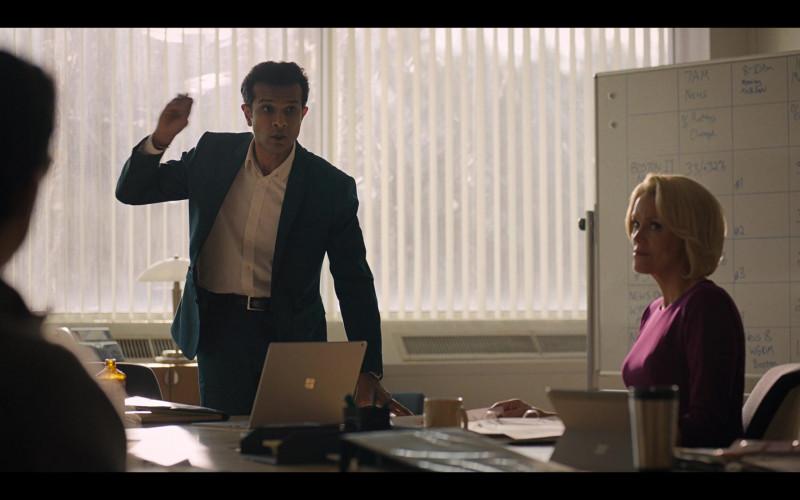 Microsoft Surface Laptop of Utkarsh Ambudkar as Grant in Godmothered (2020)