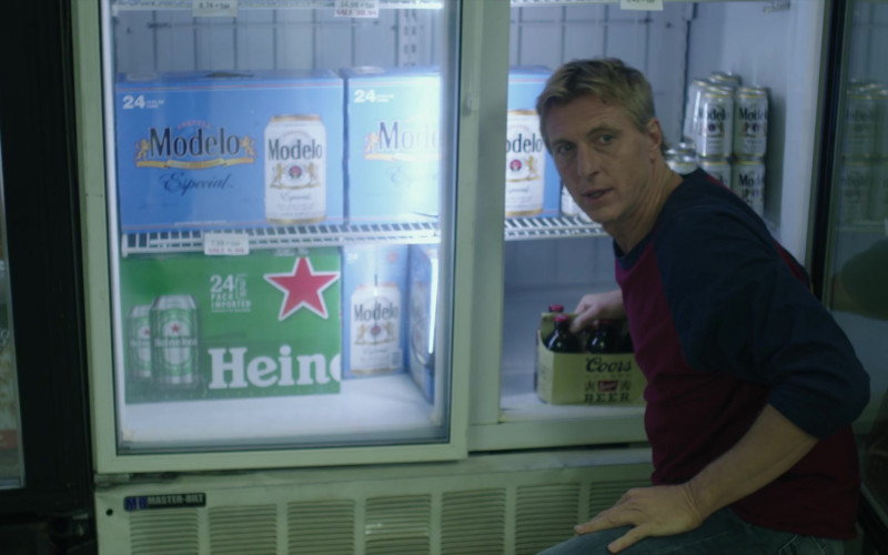 Modelo, Heineken and Coors Beer in Cobra Kai S01E05 Counterbalance (2018)
