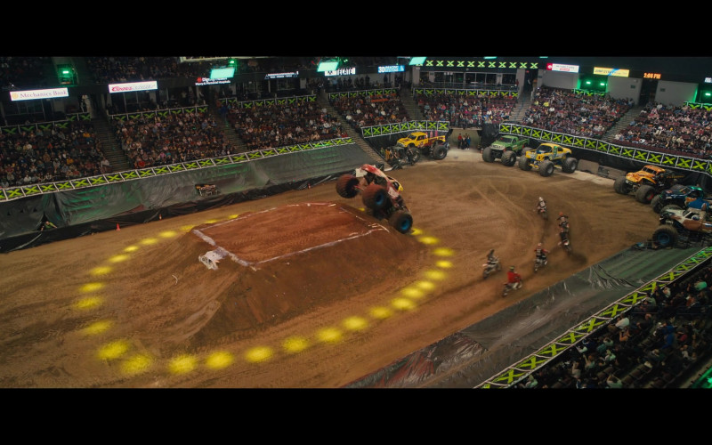 Monster X Tour Motorsports-Racing Event in The Prom (1)