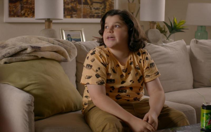 Mountain Dew Soda Drink of Griffin Santopietro as Anthony in Cobra Kai S01E06