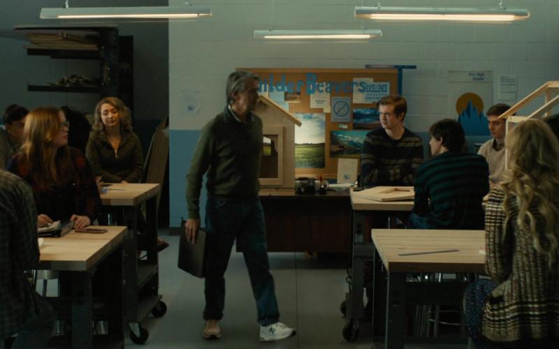 New Balance Sneakers of Alan Ruck as Mr. Bernardi in Freaky (2020)