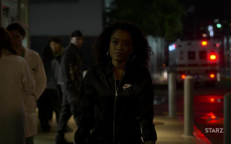 Nike Air Women's Jacket of LaToya Tonodeo as Diana Tejada in Power Book II Ghost S01E09
